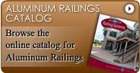 aluminum railings catalog