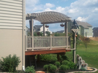 Custom Pergola Installation