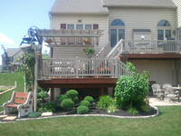 Porch Rail and Pergola Installation
