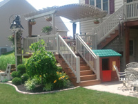 Porch Rail and Pergola Lebanon Pa