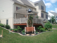Porch Rail and Pergola Lebanon County