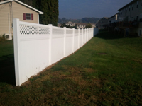 vinyl fence lattice ephrata pa