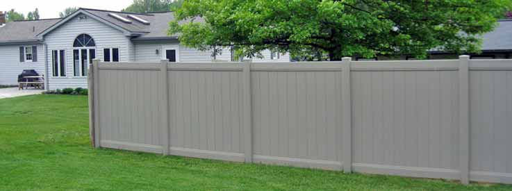 tan vinyl fence in lebanon pa
