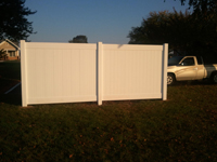 solid privacy fence in lititz pa